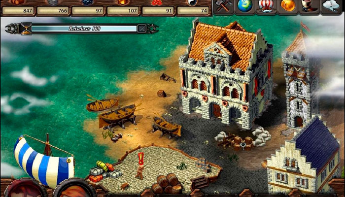 Cultures Online - бесплатная онлайн игра