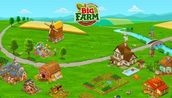 Big Farm - бесплатная онлайн игра
