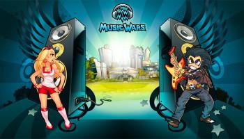 Music Wars - бесплатная онлайн игра