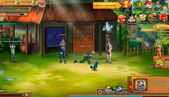 Ninja World - бесплатная онлайн игра