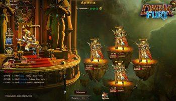 Dark Fury - бесплатная онлайн игра