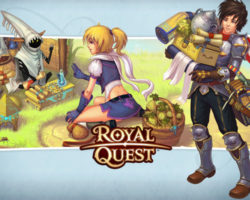 Royal Quest - клиентская онлайн игра