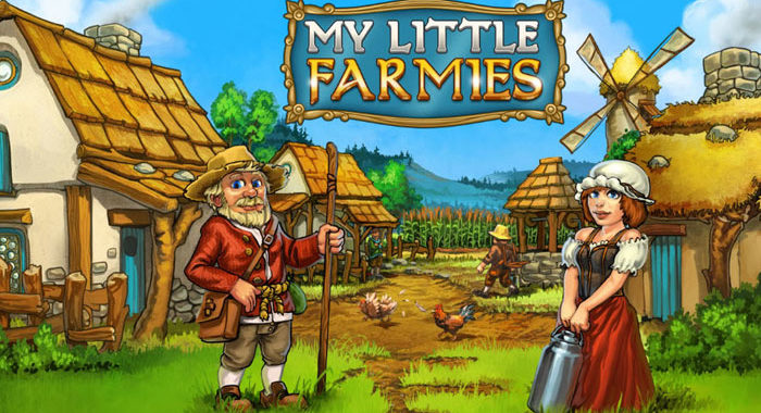 My Little Farmies - онлайн игра