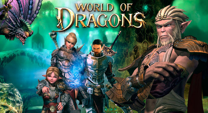World of Dragons - онлайн игра