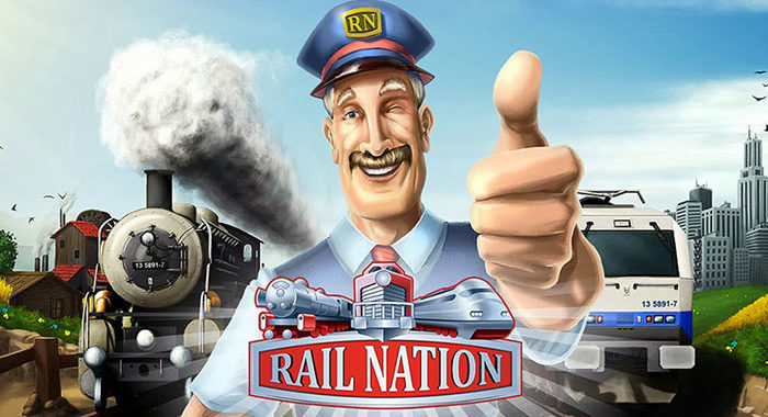 Rail Nation - онлайн игра