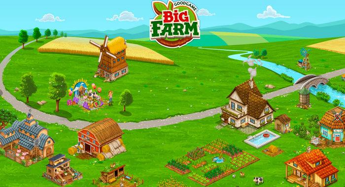 Big Farm - онлайн игра
