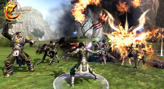 Седьмой элемент - онлайн игра