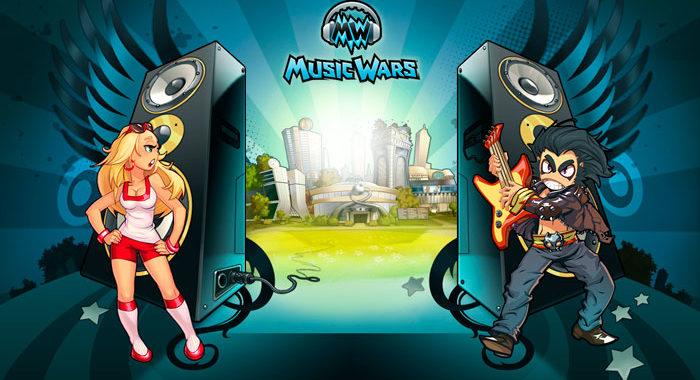 Онлайн игра Music Wars