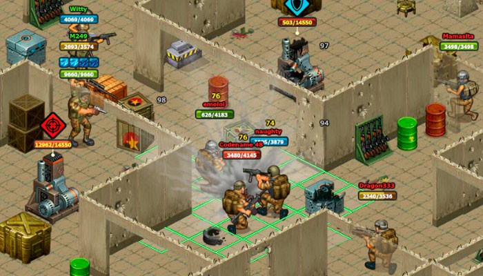 Солдаты Удачи - онлайн игра
