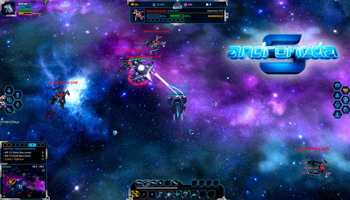 Andromeda 5 - онлайн игра