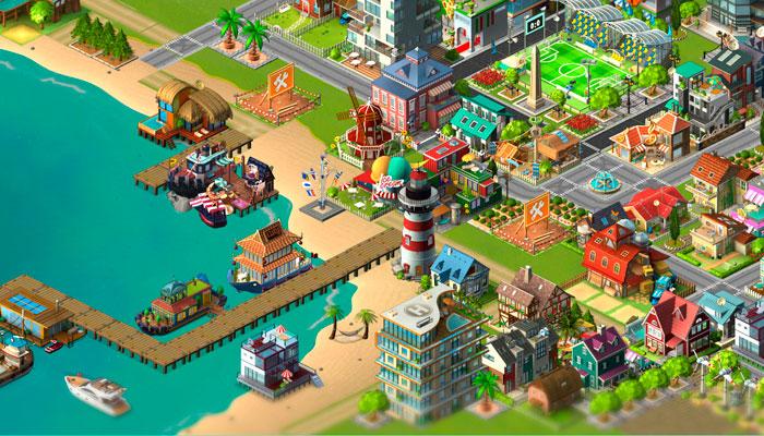 Rising City - онлайн игра