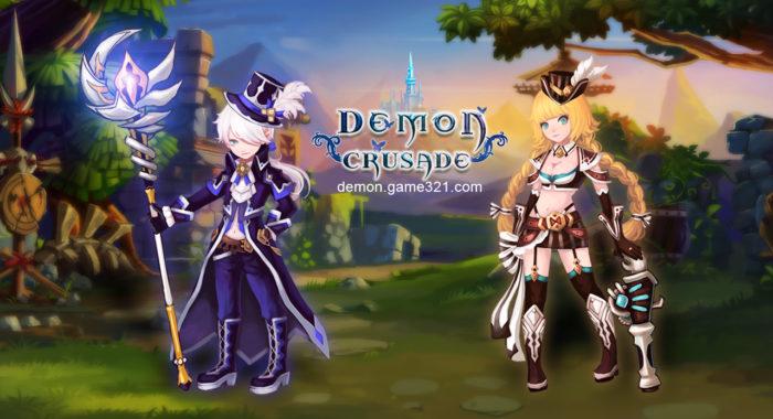 Demon Crusade - бесплатная браузерная MMORPG