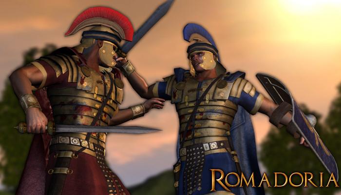 Ромадория - браузерная стратегия о Древнем Риме