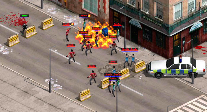 Z-War - браузерная онлайн игра