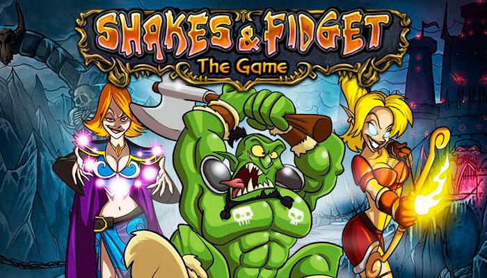 Shakes and Fidget - браузерная MMORPG-комикс пародия на World of Warcraft: обзор, видео, геймплей