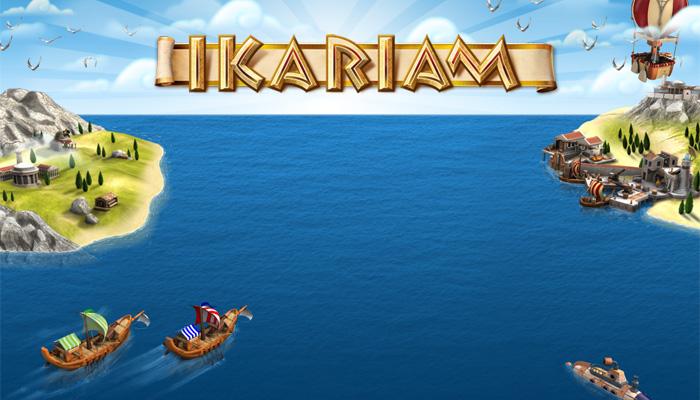ikariam - браузерная онлайн игра