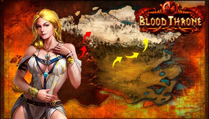 Blood Throne - браузерная стратегия про средневековье