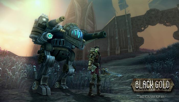Black Gold Online - онлайн игра в стиле стим панк