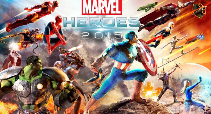 Marvel Heroes 2015 - клиентская ролевая онлайн игра с элементами MOBA
