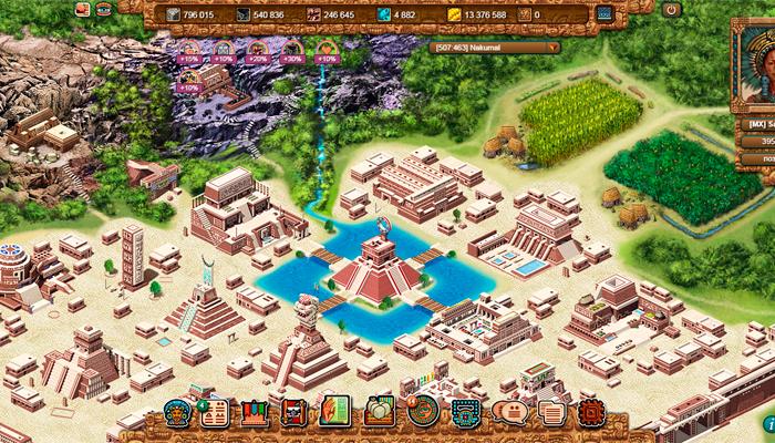 Тентлан - онлайн игра про индейцев Майя