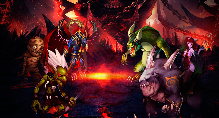 Браузерная аниме игра Верность Дракона