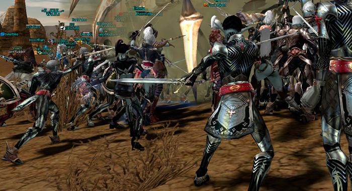 Battles for Glory - новая онлайн игра в стиле Lineage