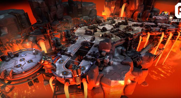 Games of Glory - клиентская онлайн игра в жанре MOBA в стиле sci-fi
