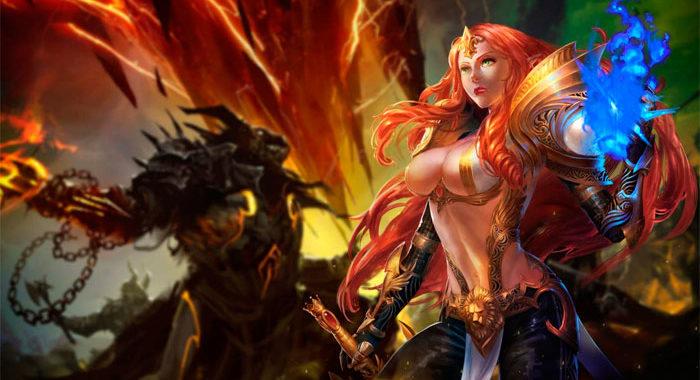 Goddess of War - официальный сайт, играть бесплатно онлайн