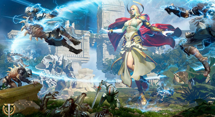 Skyforge - фантастическая MMORPG, сочетание богов и технологий