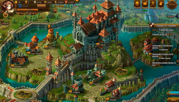 Герои Магии - браузерная фэнтезийная стратегия с элементами RPG