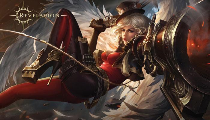 Revelation - клиентская MMORPG с полетами