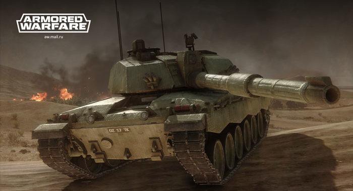 Armored Warfare - военный симулятор управления танками