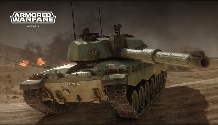 Armored Warfare - военный симулятор управления танками