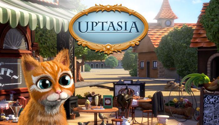Uptasia - экономическая браузерная игра с поиском предметов