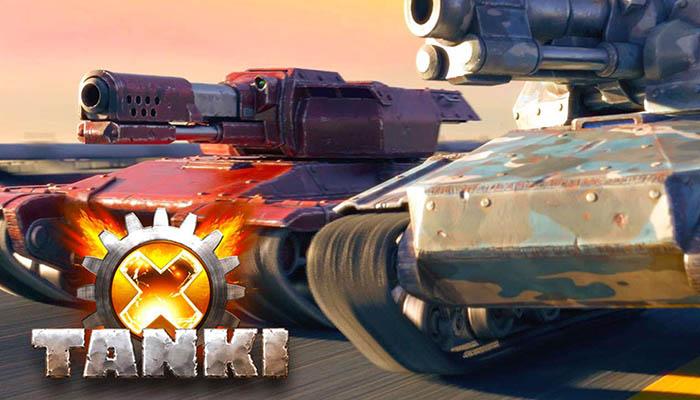 Tanki X - фантастический танковый симулятор