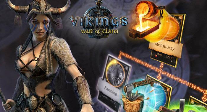 Викинги: Война кланов - онлайн стратегия