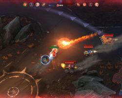 СкриншотыHeavy Metal Machines