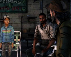 СкриншотыThe Walking Dead: Season Two