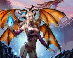 Dragon Knight 2 - продолжение браузерной игры с крутой графикой