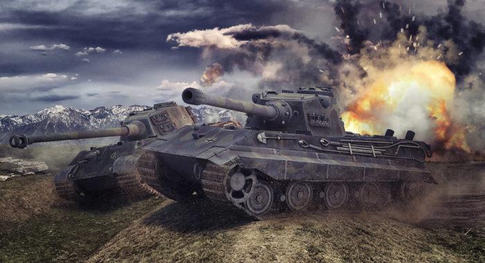 Игры про танки 2 мировой войны