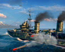 СкриншотыWorld of Warships