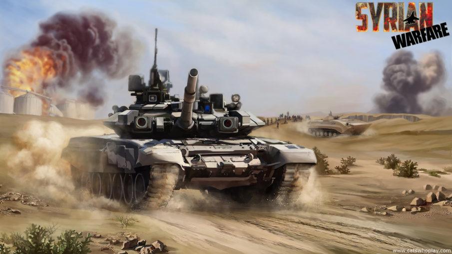 Syrian Warfare - стратегия в реальном времени на ПК