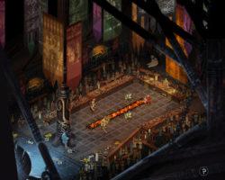 СкриншотыThe Banner Saga 3