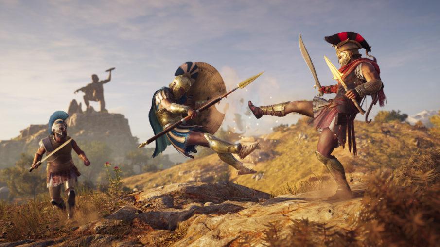 Assassin's Creed Odyssey - игра на ПК с открытым миром и свободой действий одиночная