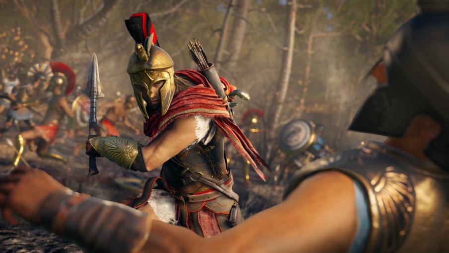 Assassins Creed Odyssey - игра с развитием персонажа на ПК