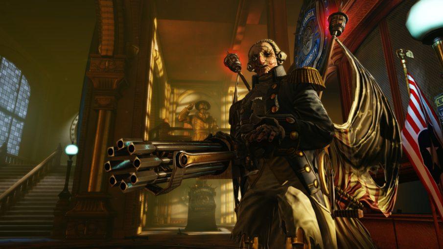 Bioshock Infinite - игра с прокачкой персонажа и оружия на ПК