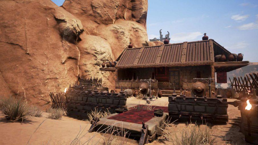 Conan Exiles - игра выживание на ПК с крафтом и строительством
