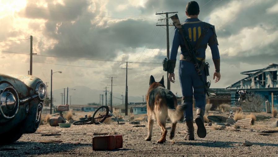 Fallout 4 - игра с развитием персонажа на ПК