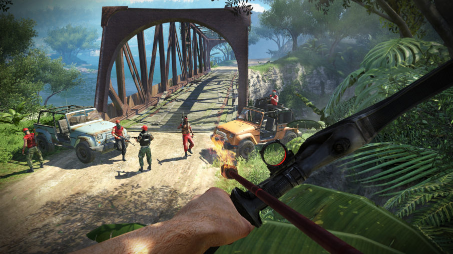 Far Cry 3 - игра про выживание на острове