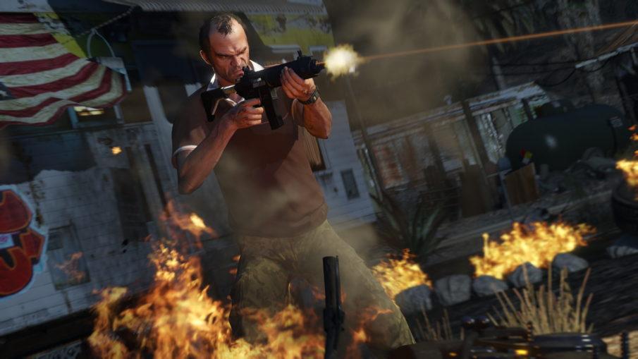Grand Theft Auto V - игра на ПК с открытым миром и свободой действий одиночная